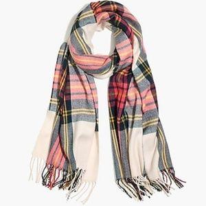 NWOT Jcrew blanket plaid scarf